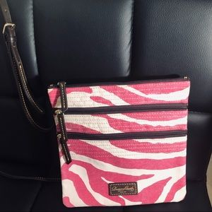 Dooney and Bourke Crossbody Triple Zipper